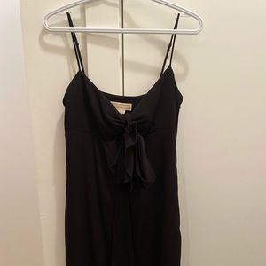 Beautiful black slip dress with knot